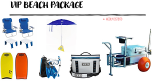 VIP Beach Package