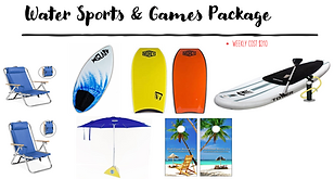Water Sports & Games Package