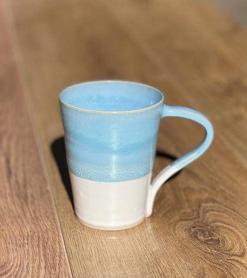 Beaumont Mugs - Turquoise & White