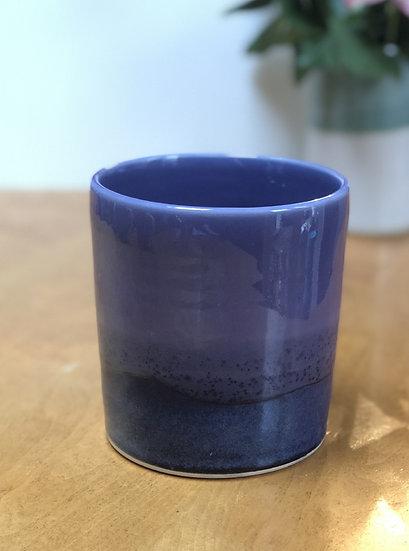 Utensil Jar - lavender/fjord blue