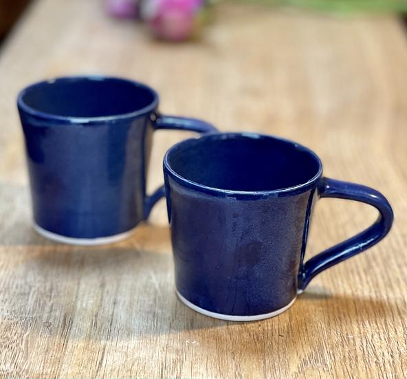 Espresso Cups - Pair, Fjord Blue