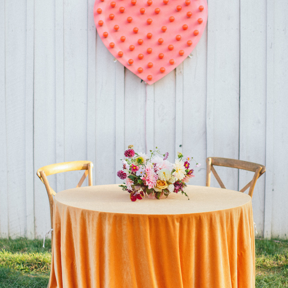 Kacey Musgraves Wedding Heart