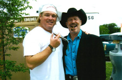 Kinky Friedman at Adopt a Dog