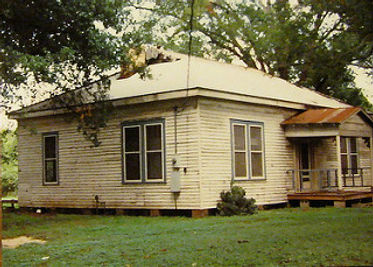 The house when we bought it in 1992