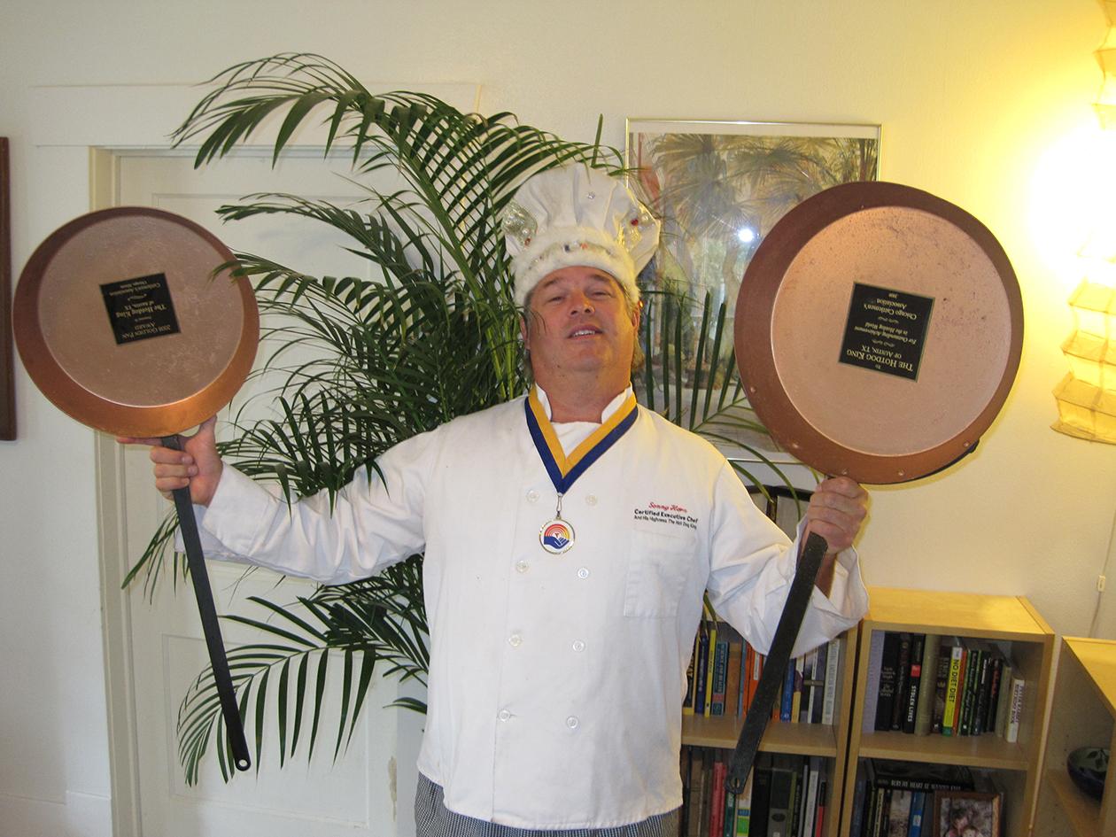 Two Golden Pan Awards