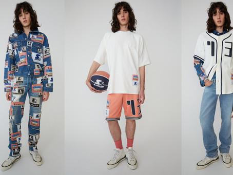 Acne Studios x Starter présente une collection sportswear rétro