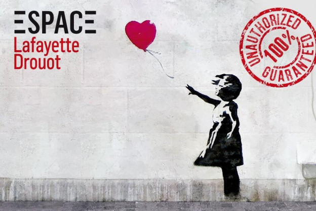 L'exposition The World of Banksy à l'Espace Lafayette-Drouot à ouvert ses portes