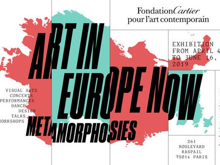 """""""Jeunes Artistes en Europe. Les Métamorphoses"""" à La Fondation Cartier"""