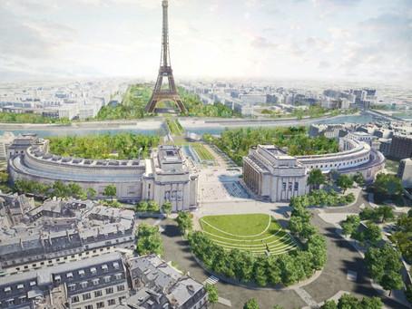 La tour Eiffel renouvelle son parc pour accueillir les Jeux Olympiques de 2024.