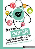 Forum santé 3/12/2015 association Ensemble