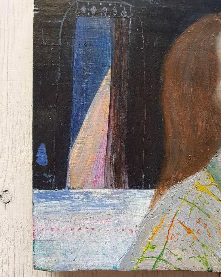 And I Am (detail)