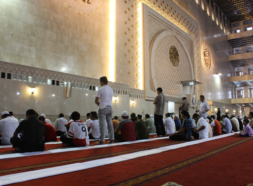 Friday Prayer in Islam