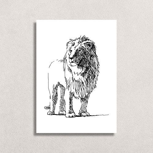 Kaart Leeuw