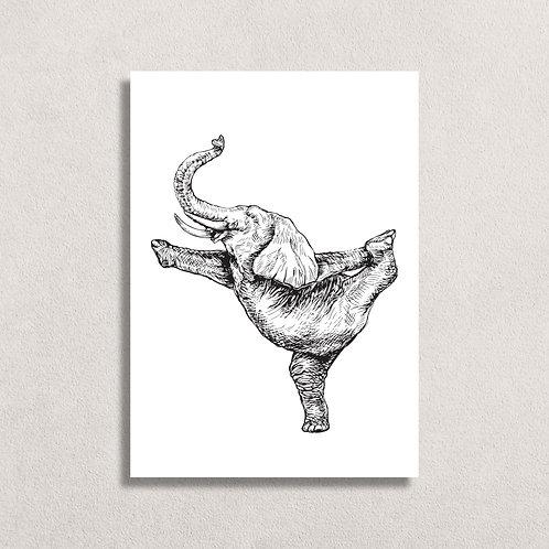 Kaart Yoga Olifant 1