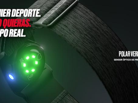 MIDE CADA MOVIMIENTO CON EL NUEVO POLAR VERITY SENSE. FÁCIL DE USAR EN CUALQUIER DEPORTE
