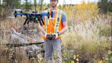 Drones Track Forest Regeneration in Canadian Cut Blocks