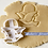 Thumbnail: Rene Magritte Cookie Cutter, Surrealism Cookie Cutter