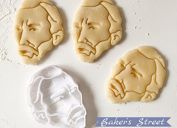 Van Gogh Cookie Cutter, Cookie Art, Painter