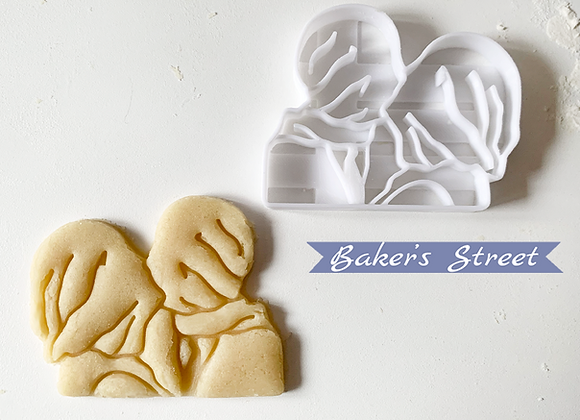 Rene Magritte Cookie Cutter #2, Surrealism Cookie Cutter