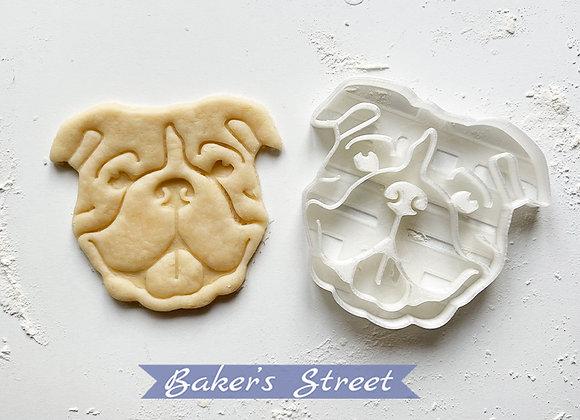 American Bulldog Cookie Cutter