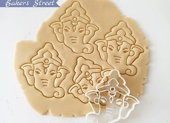 Ganesha Cookie Cutter - Ganapati Cookie Cutter