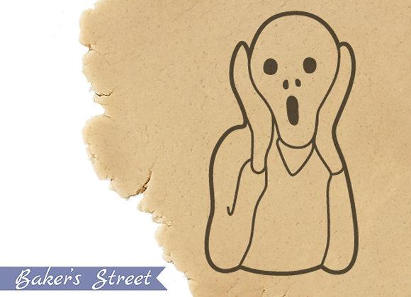 Munch Scream Cookie Cutter, Cookie Art, Painter