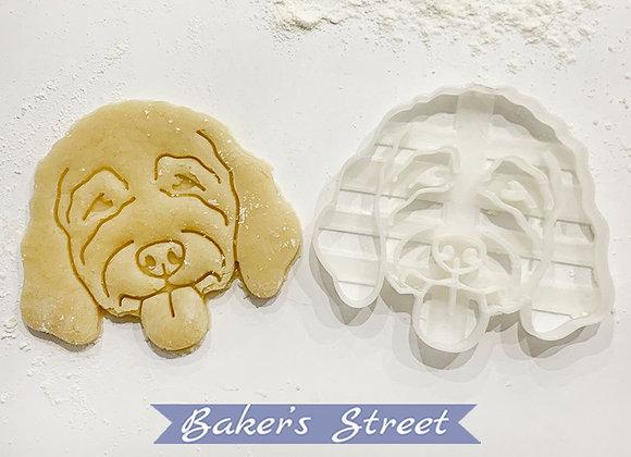 Golden Doodle Cookie Cutter