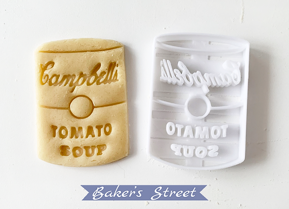 Tomato Soup Cookie Cutter