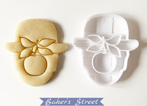 Rene Magritte Cookie Cutter #3, Surrealism Cookie Cutter