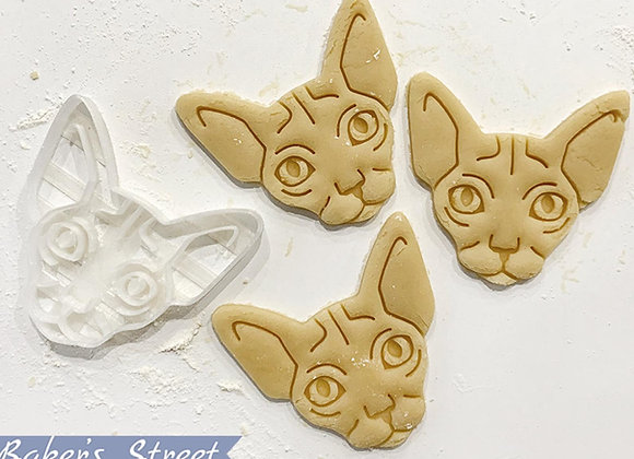 Sphynx Cat Cookie Cutter