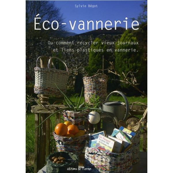 couverture du livre Eco-vannerie de Sylvie Bégot