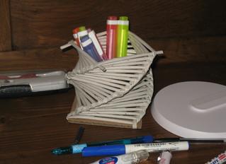 Rendez-vous vendredi pour réaliser un pot à crayons hélicoïdal