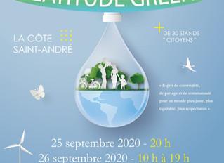 Ce samedi, rendez-vous au 2ème festival écocitoyen Latitude Green