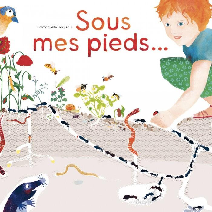 """couverture du livre """"Sous mes pieds..."""" de Emmanuelle Houssais"""