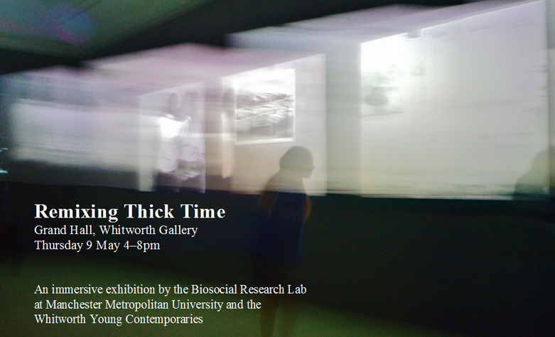 invite for Remixing Thick Time (2019)