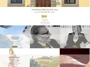 Nuovo sito Console Firenze dal 1919