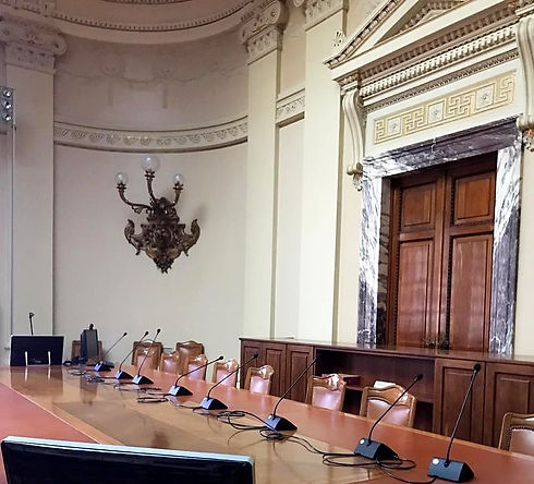 Sala consiglio banca d'italia