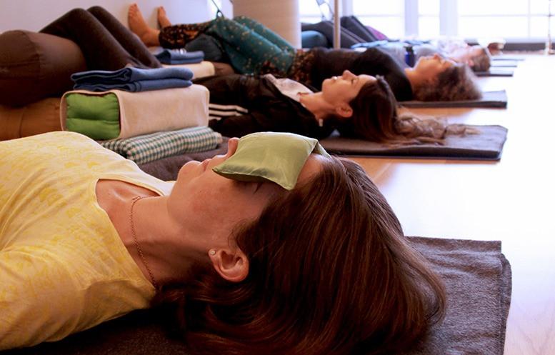 Just Breathe Restorative Yoga Classes