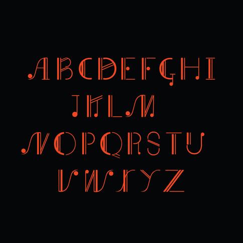 Type Design: Chords Regular