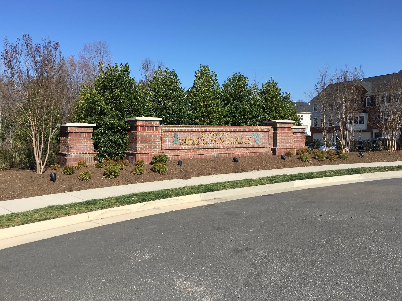 Entrance Feature, Herndon VA
