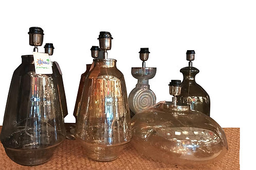 Glass lamps collection