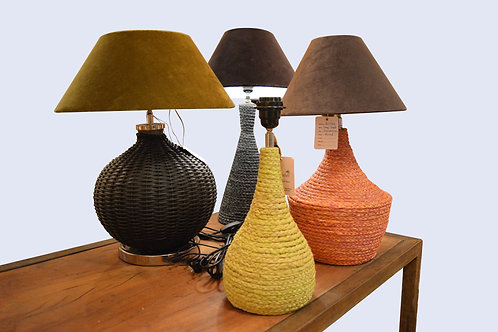Natural Table Lamps Collection