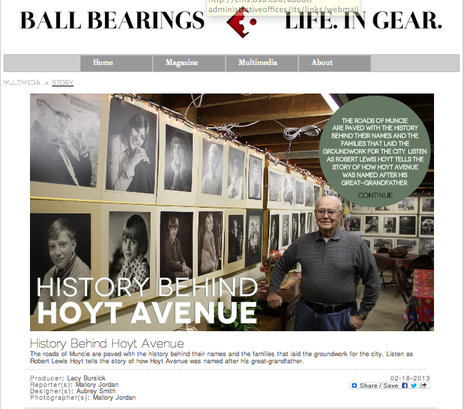 History Behind Hoyt Avenue