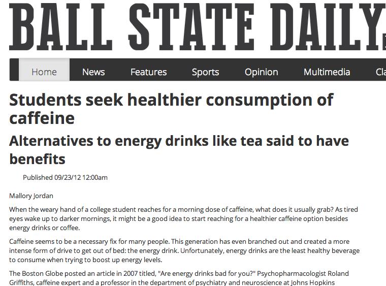 Healthier Caffeine