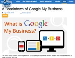 Google My Business Breakdown - Blog