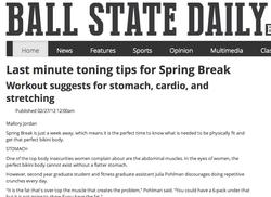 Tips for Spring Break