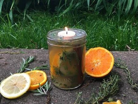 Citrus & Lavender Bug Repellent Candle