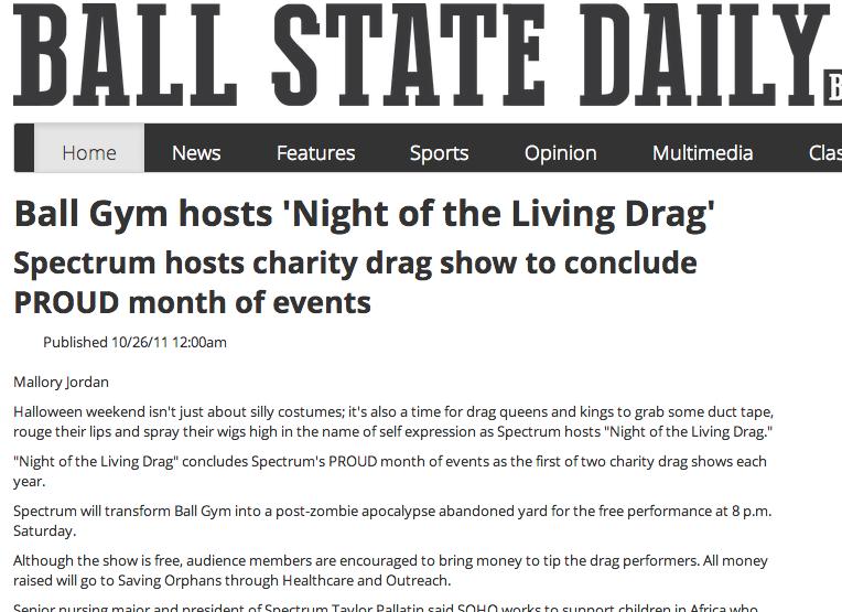 Drag Show 2011