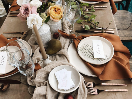 Create Your Own Table Setting Style