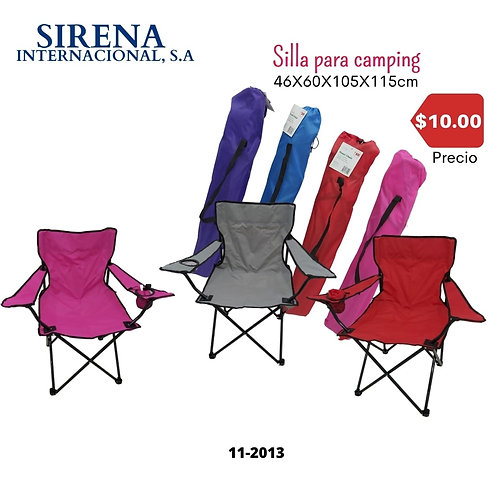 Silla para camping